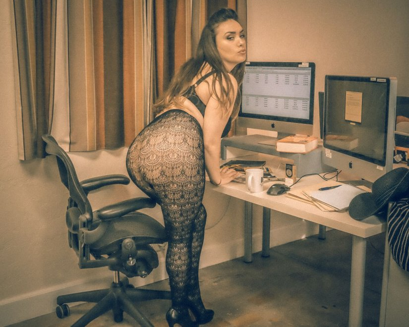 After Hours at the Office Porn Photo