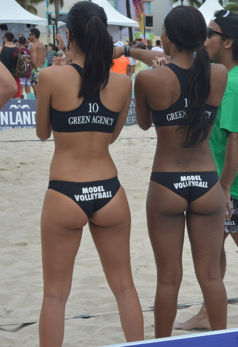 volleyball bubble butt naked