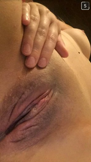 amateur photo My girlfriend's perfect pussy