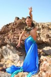 amateur photo Isabella A as a Hindu girl.