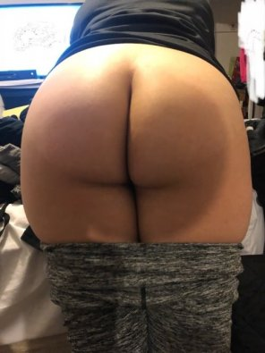amateur photo Round rump...