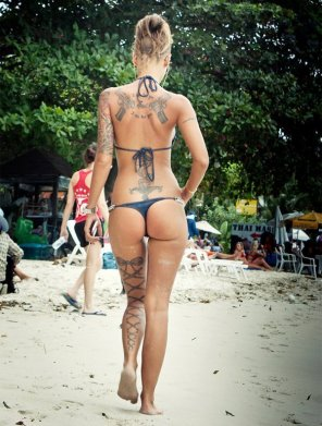 amateur photo Beach and Tats