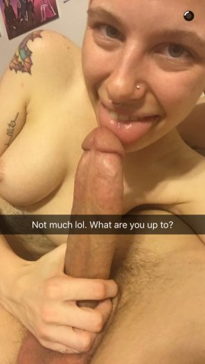 amateur photo Snapchat