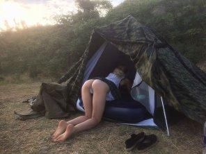 amateur photo Camp Out