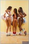 amateur photo Skin Diamond, Leilani Lei and Ana Foxxx