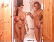 Linsey Dawn is about 10 times bigger than her friend