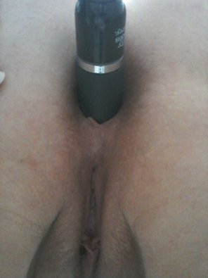 amateur photo My [F]rench asshole with a dildo. Would you fuck it? More in the comments [OC]