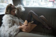 Rosie Limo - Fur and stockings
