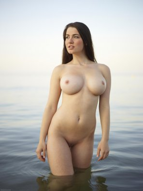 amateur photo Coming out of the water
