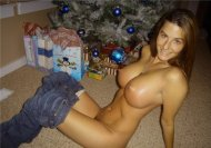 Maybe she got those titties for Christmas too :)