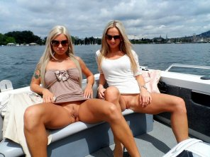 amateur photo A Double on a Boat
