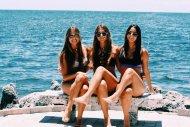 Three at the shore