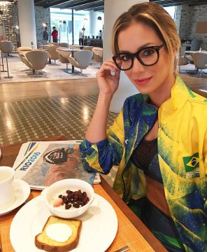 amateur photo Brazil and breakfast