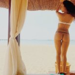 amateur photo Cabana curves