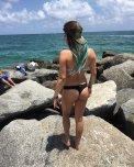 amateur photo Sexy Beach Bum
