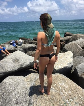 amateur photo Sexy Beach Bum