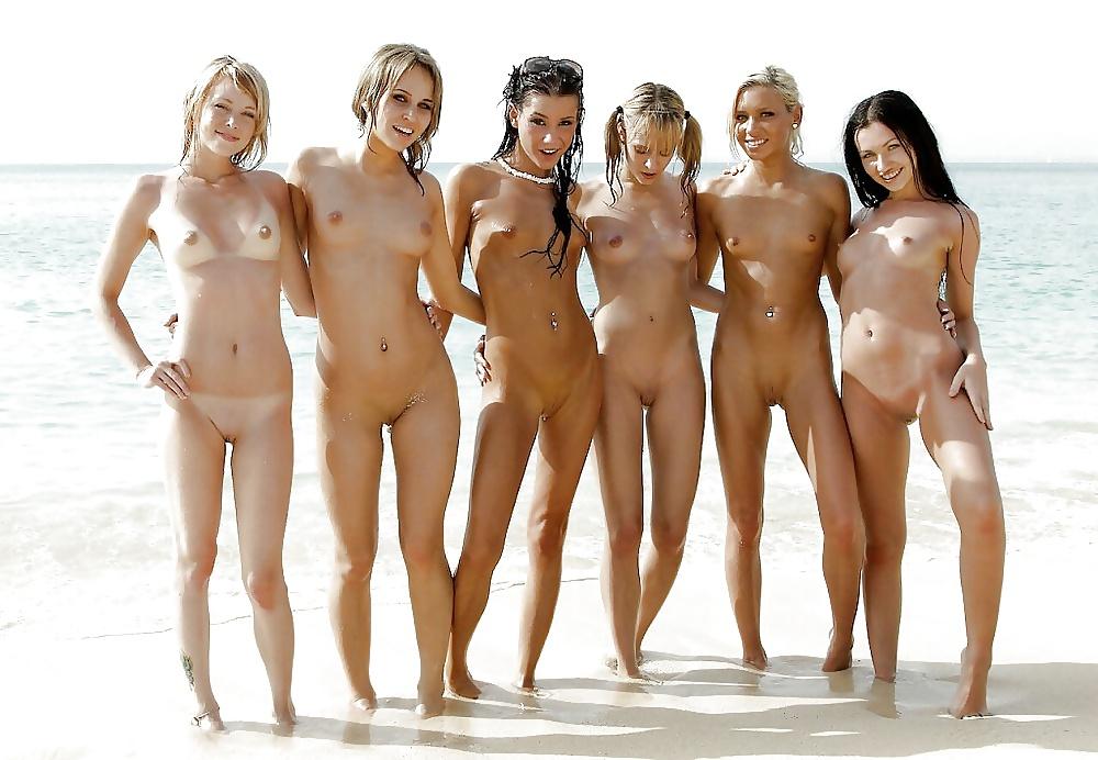 Playboy college girls posing together