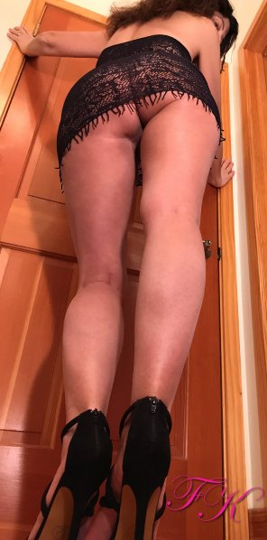 amateur photo How's the view from down there? [F]