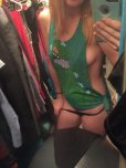 amateur photo In the closet