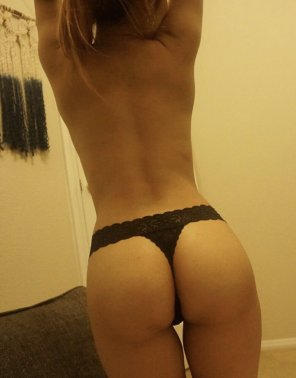amateur photo Thong