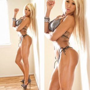 amateur photo Erika Schwegler AKA Brazilian Barbi