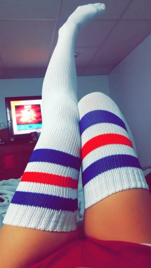amateur photo Tube Sock Thursday