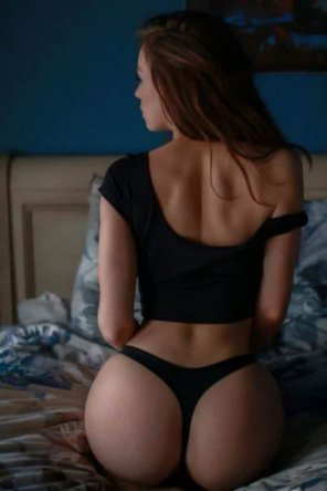 amateur photo Black panties