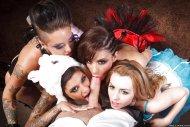 costumed ladies