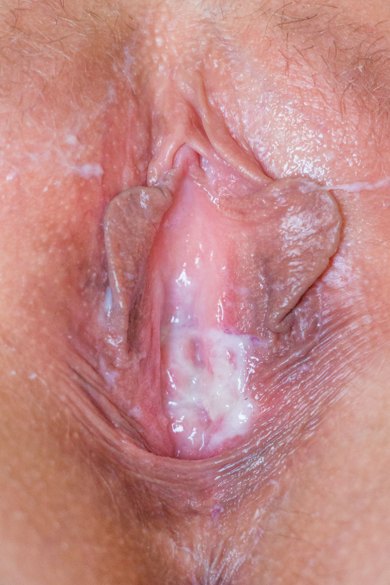 Asian Pussy Close Up Solo