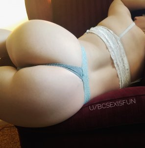 amateur photo Just move the thong to the side and pound me