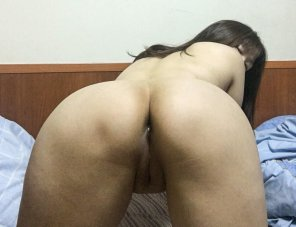 amateur photo My ass is not done yet, waiting [f]or you Sir