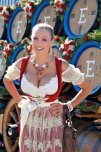 amateur photo Jordan Carver Oktoberfest