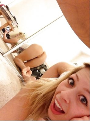 amateur photo Mirror, Mirror