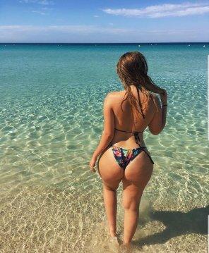 amateur photo Australian beach waters