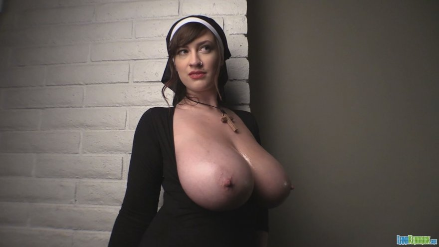 Halloween nun Porn Photo