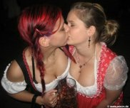 amateur photo Touching Moment at Oktoberfest