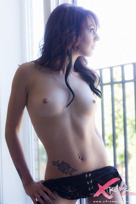 Rose tattoo Porn Photo