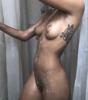 amateur photo I need a shower buddy...
