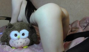 amateur photo Cute pale schoolgirl