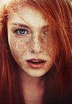 amateur photo Lots of freckles