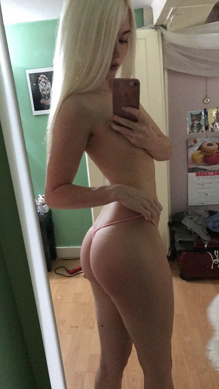 Blonde Teen Perfect Ass Tits