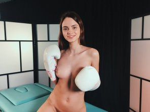 amateur photo Ready To Knock You Out