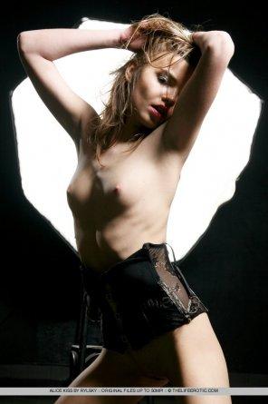 amateur photo Alice Kiss