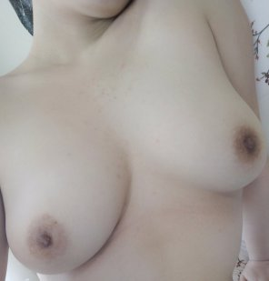 amateur photo I need these tits licked lickety split!