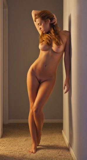 amateur photo Beautiful redhead girl
