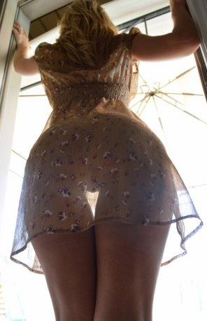 amateur photo Sheer and see through.