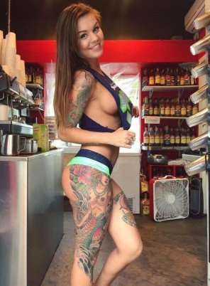 amateur photo Barista