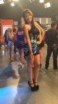 amateur photo Anel Rodríguez - Black strap platform pumps