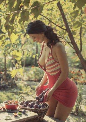 amateur photo Firm ripe fruit.