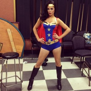 amateur photo Wonderwoman !